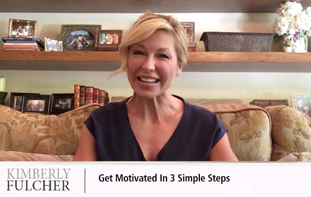 Get Motivated – 3 Steps to Unleash Your Mojo