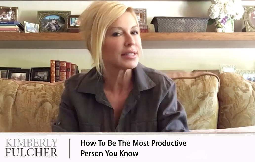 How To Be Most Productive Person You Know