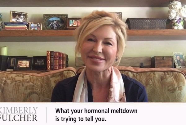 What your hormonal meltdown is trying to tell you with Kimberly Fulcher