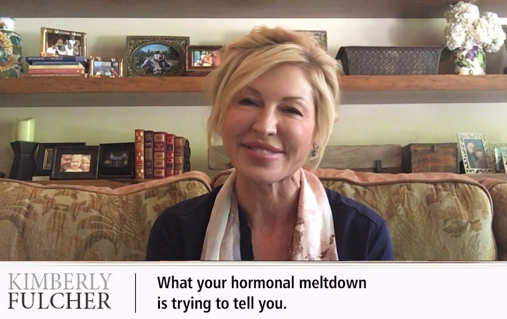 What your hormonal meltdown is trying to tell you.