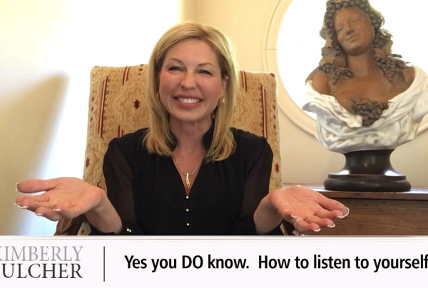 Find out what you're body is telling you with kim fulcher