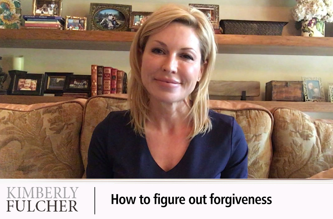 How to figure out forgiveness.