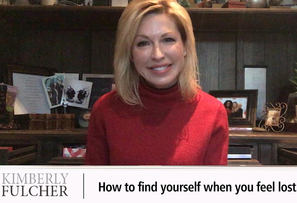 How to find yourself when you feel lost.
